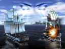 wallpaper sea war the battles 01 1600