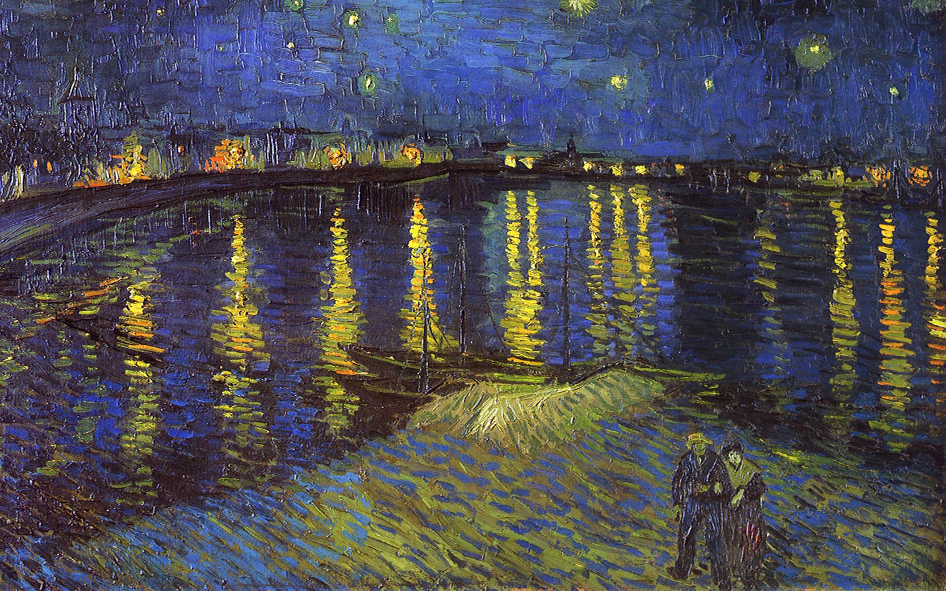 Tableau Van-Gogh 1920 x 1200 (17) - 10 000 Fonds d'écran HD gratuits et de qualité ! Wallpapers HD