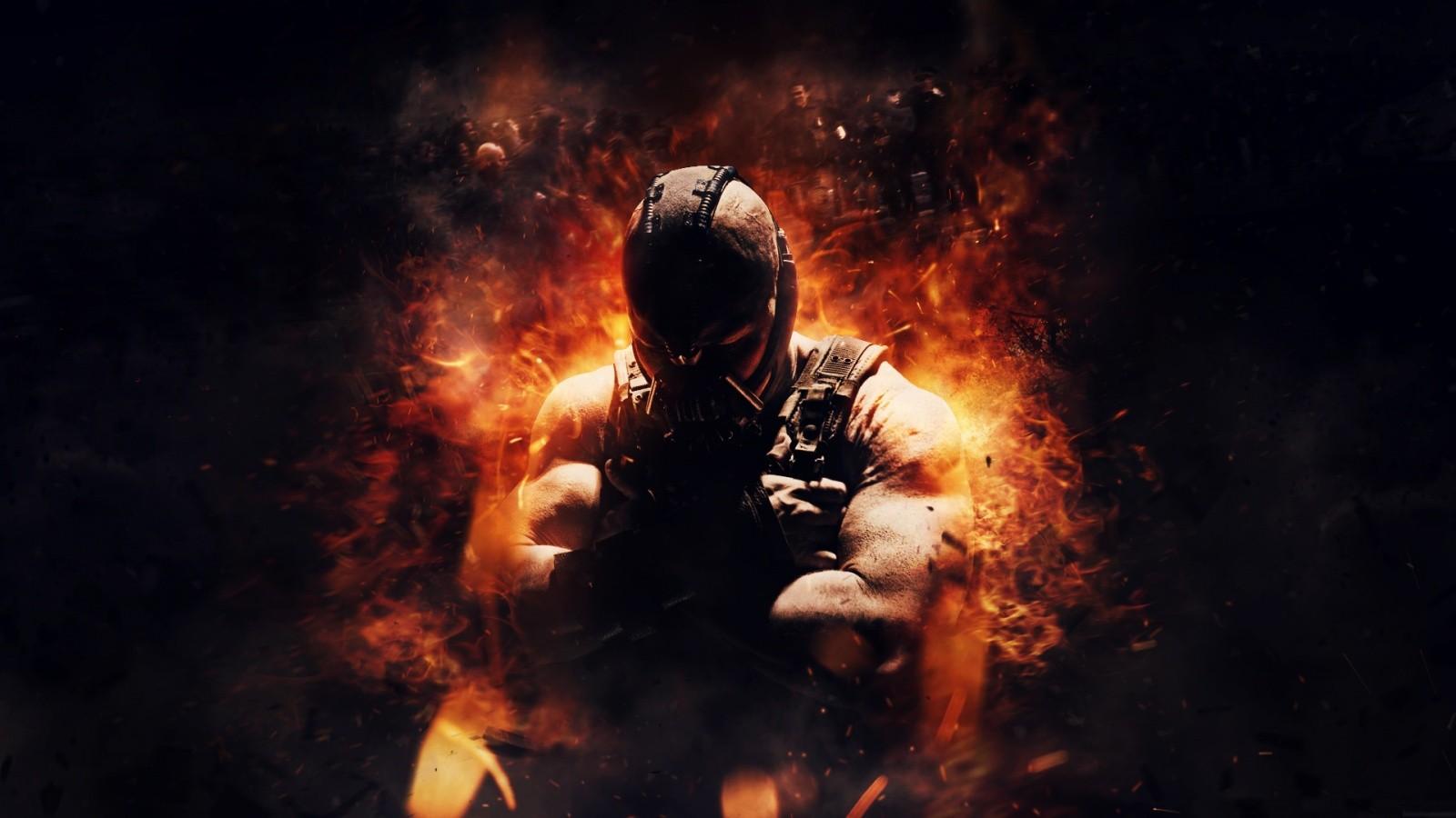 The Dark Knight Rises Bane Wallpaper 1600x900 10 000 Fonds D Ecran