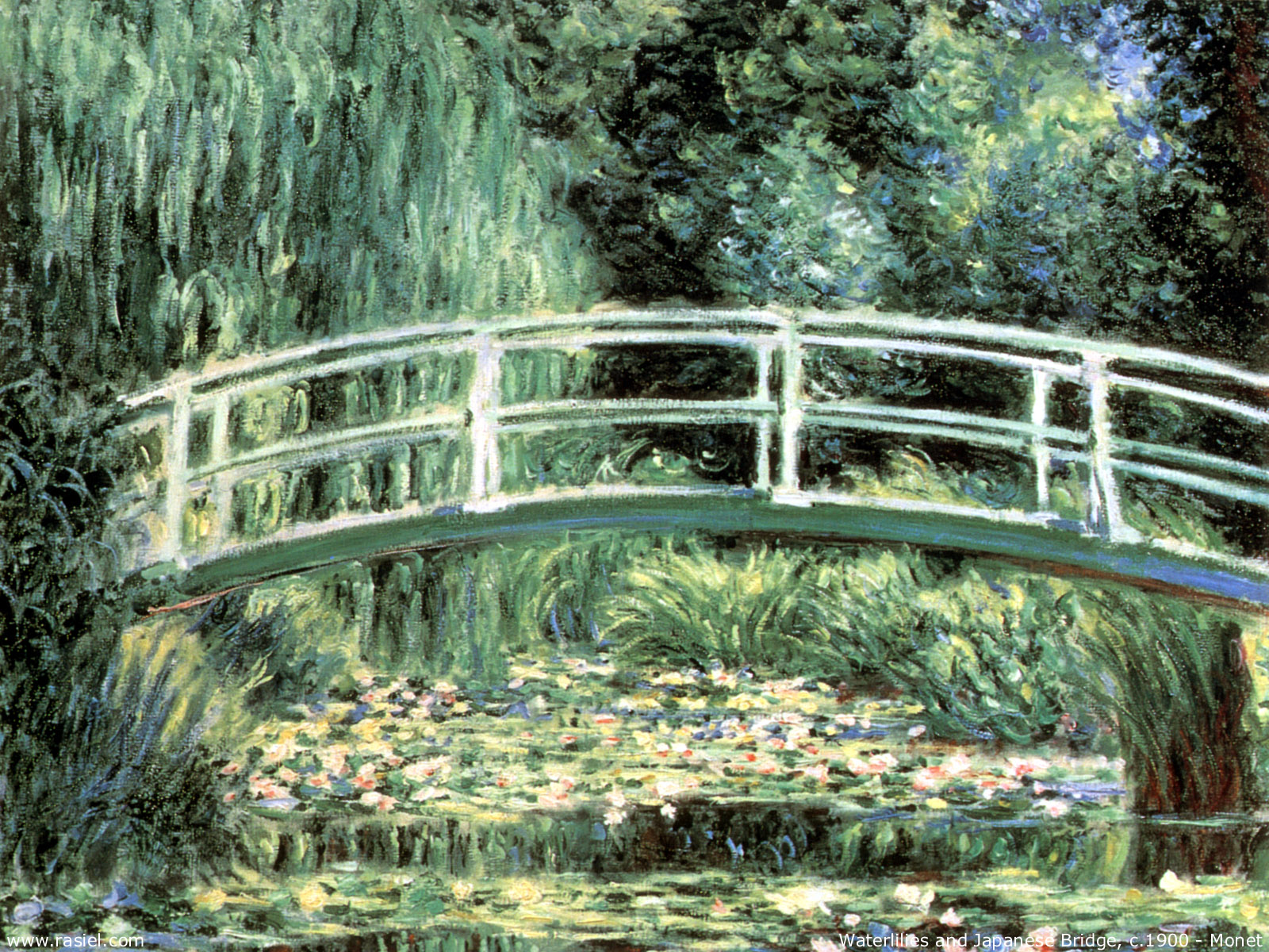 Monet - Waterlilies and Japanese Bridge.jpg
