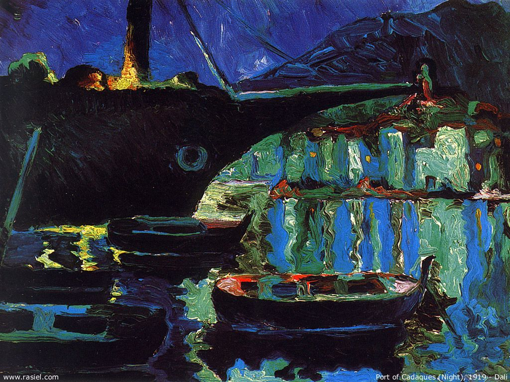 Salvador Dali Wallpaper - Port de Cadaques - 1919.jpg