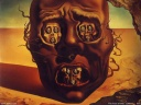 Salvador Dali Wallpaper - The Face of War 1940