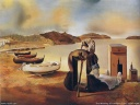 Salvador Dali Wallpaper - The Weaninf og Furniture-Food 1934