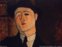 Modigliani - Portrait Paul Guillaume - 1916
