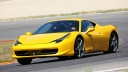 yellow ferrari 458 italia-wallpaper-1600x900
