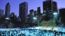 Skaters at Wollman Rink, Central Park, New York City