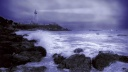 Stormy Weather, Pigeon Point Light Station, California