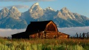 Jackson Hole in Summer, Wyoming