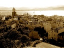 Photography-Saint-Tropez-Sepia Desktop