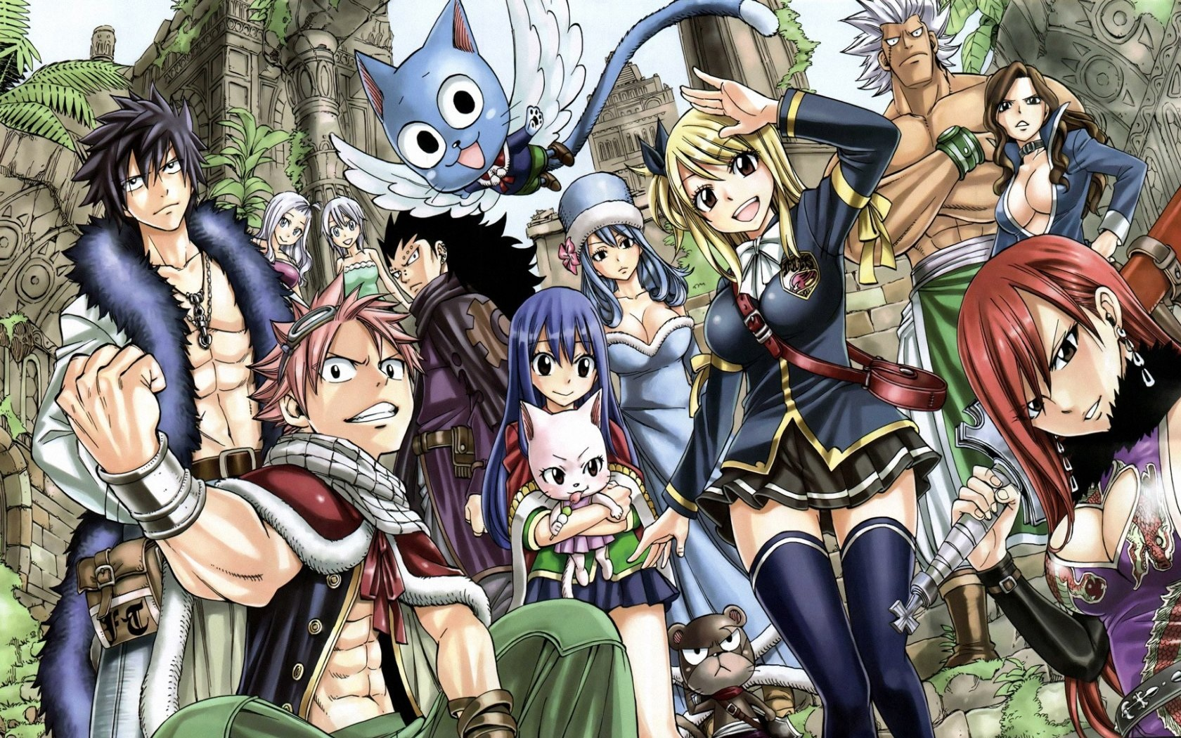 fond d'ecran telephone fairy tail