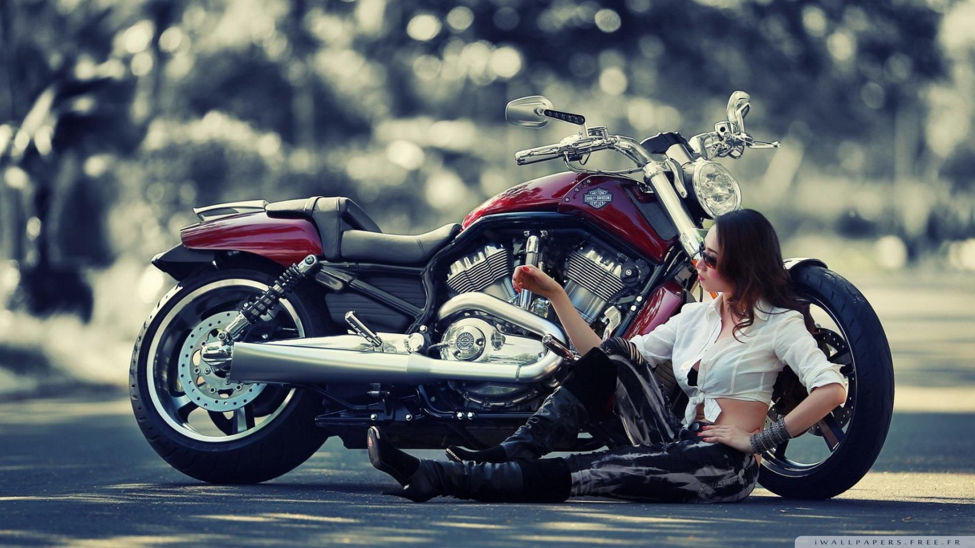 fond d'ecran moto