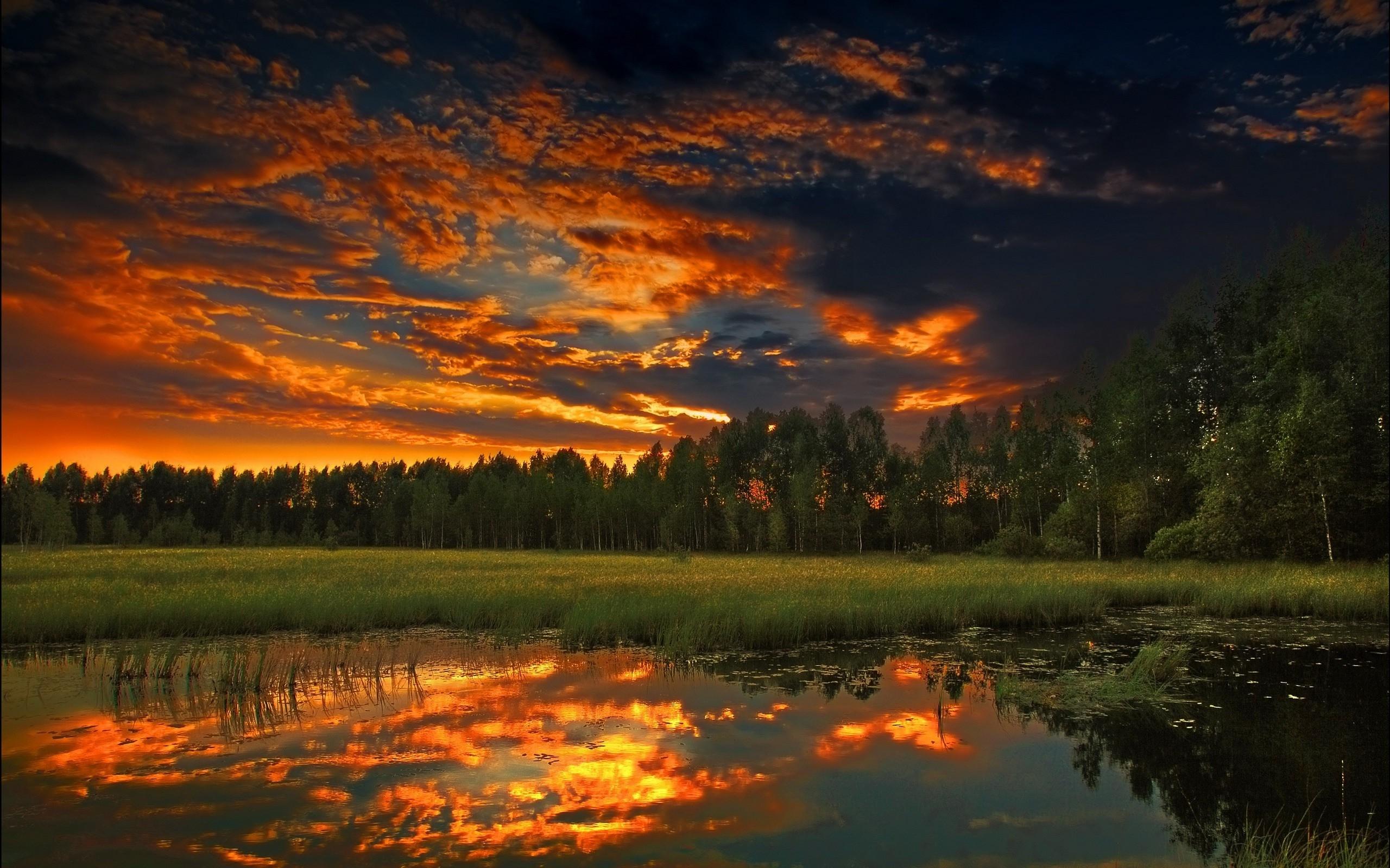 Coucher De Soleil Sur Lac 4 10 000 Fonds D Ecran Hd Gratuits Et